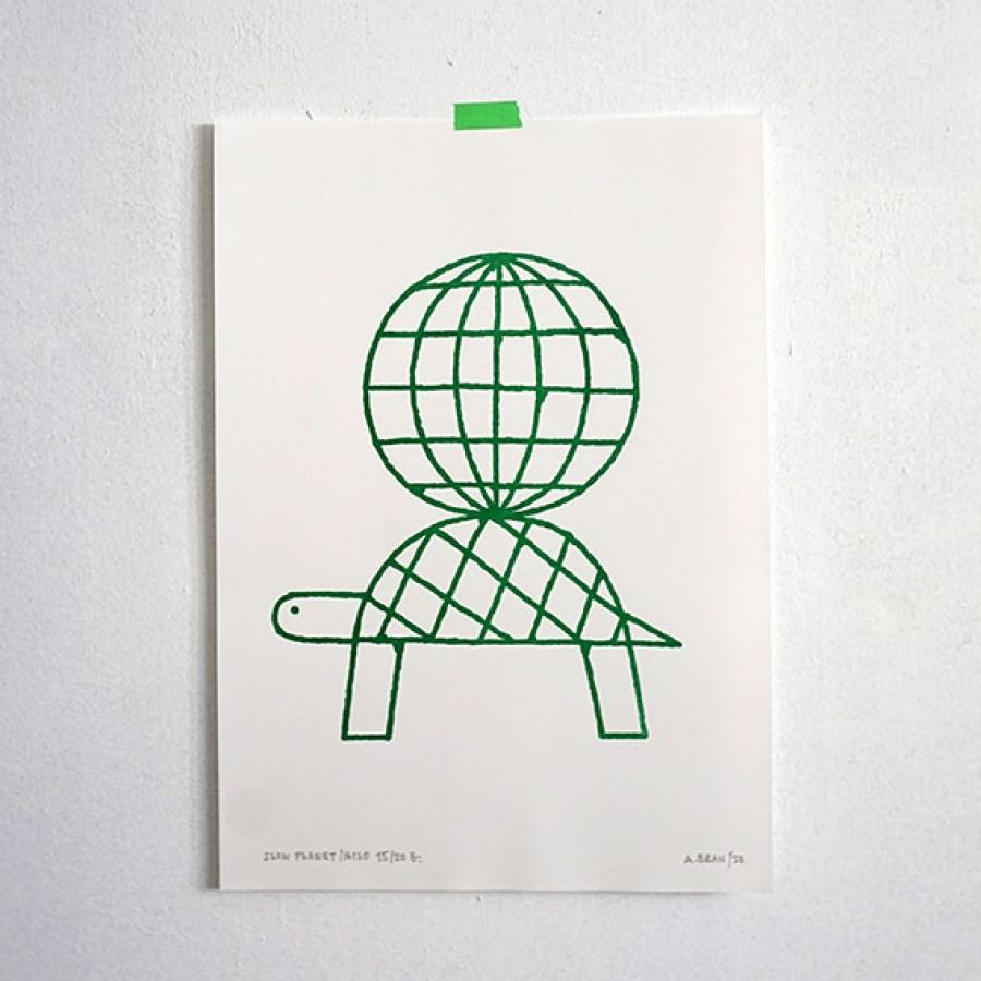 Slow Planet. Green