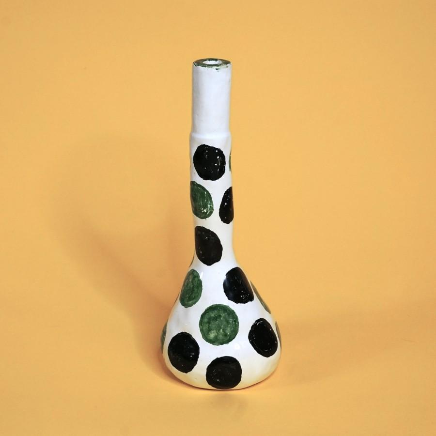 Dot Dot  Dot vase